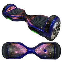 Wholesale 6 inches Balance Board Hover Skins Decal Protective Vinyl Skin Stickers Wrap Self Balancing Hoverboard Scooter Leray Sogo Glyro Swagwa