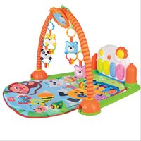 Wholesale 83cm play mats baby toy electric piano music mirror doll good gift for kids