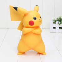 Wholesale 7 cm Poke Go Pikachu POKKEN TOURNAMENT A Prize Pikachu Figure PVC Action figure toy with box