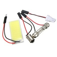 Wholesale Hot Sale T10 W5W LED COB Chip Car Auto Interior Light Panel Reading Map Bulb Lamp BA9S Festoon Dome Adapter V