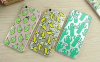banana french - Westernstyle D Rotating Cartoon Banana Moving Eyes Mouse Cat French Fries Soft TPU Cover Case For iPhone S Plus inch SE S