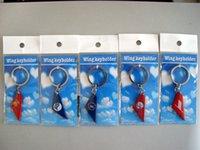 Wholesale metal Wings keychains