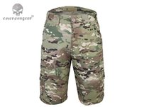 Wholesale All weather Outdoor Tactical Short Pants Wearable Soft Military Army Trousers Activities Hunting Camping Airsoft Pants EM7023 MC