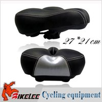 big city bicycle - price super big ultra soft cm PU leather middle hollow mtb road bicycle saddle cycling seat black city bike parts