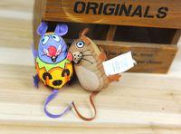Wholesale 2016 new Cat Toys Mouse series blending colorful pet toys canvas Cat Supplies Cat Toys