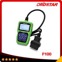 OBDSTAR F-100 Auto Key Programmer sans mot de passe nécessaire pour Mazda / Ford F100 IMMO Odomètre pour M2 M3 M6 CX3 CX5 Livraison gratuite DHL