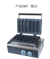 Wholesale 220v v Mixed Type Hot dog lolly waffle makers machine good product with CE