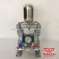 Wholesale Double Way Pneumatic Ink and Glue Diaphragm Reciprocating Pump With Buffer Tank C
