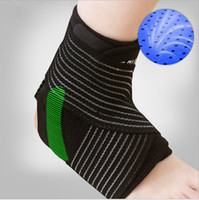 Wholesale DHL Sports Ankle Strain Wraps Bandages Elastic Ankle Support Brace Protector For Fitness Running