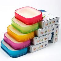 Wholesale 2016 new Aerobic versatile and easy to clean sponge pad soap dish soap box aerobic fashion home
