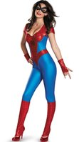 adult spider man costumes - Adult Halloween Sexy Spider Man Superman Costume Cosplay Party Fancy Dress size S L