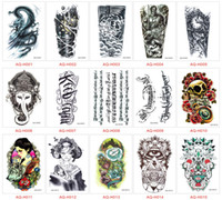 art dolls patterns - In business styles tattoo stickers CM Waterproof Painted Body Art Tattoo water transfer tattoo sticker Baby Beauty Doll Pattern