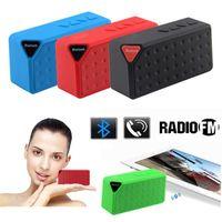 Wholesale Hoparlor Bleutooth USB Blutooth Mini Wireless Subwoofer Portable Bluetooth Speaker Music Audio Receiver Phone FM Radio Soundbar