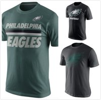 active travel - Eagles Team Travel Performance Stripe T Shirt Charcoal mens short sleeve sports TShirt Men s Clothing TShirts Size S XL