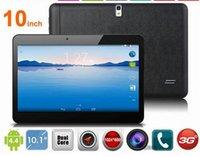 Phablet MTK6572 Dual Core 3G Téléphone Appel Tablette PC GPS bluetooth Wifi double caméra 2 Slot carte SIM 1G / 16GB 1024x600