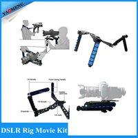 Wholesale Premium DSLR Rig Movie Kit Shoulder Rig Mount Shoulder Support Pad for Video Camcorder Camera DV DSLR Cameras by RL01