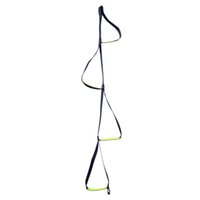 Wholesale Rock Climbing Looping Four step Etrier Rise Rope Ladders for Rope Ascents Mountaineering Ascender Sling ladder L XDQJ