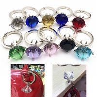 Wholesale Metal Foldable Bag Purse Hook Bag Hanger Purse Hook Handbag Holder Shell Bag Folding Table butterfly bling blue