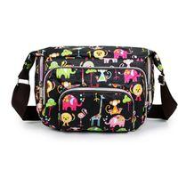 Wholesale Print Floral Women Messenger Bags CrossBody Shoulder Canvas Hobo Bag Nylon Oxford Fabric Women s Handbag Bolsas Femininas