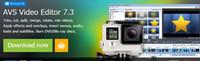 Montage vidéo, logiciel d'édition multimédia, vidéos, images, sons et autres matériels synthétisés en vidéo / AVS Video Editor 7.3.1.277