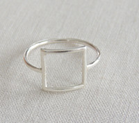 best minutes - Minutes PC gold silver rose gold punk square ring gift for friends and unique jewelry JZ112 joint holiday best gift