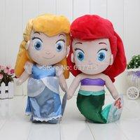 best baby animators - Animators boneca cm Cinderella Princess Baby Mini Doll The Mermaid Toys Best Kids Dolls Baby Toy Plush children gifts