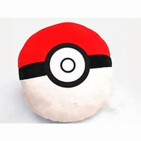 Wholesale 2016 New Anime Poke Pokeball Gamboy Embroidery Cos Plush Gift quot Big Pillow Cushion b201
