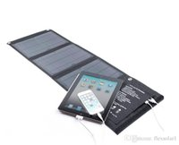 air solar panels - 15W V Sunpower Solar Charger Panel Battery Dual USB Port for iPhone s Plus iPad Air mini Galaxy S6 and More