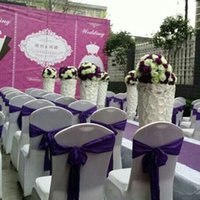 Wholesale 25 yards Wedding Candy Box Wedding Favor Chairs Covers DIY Bows Ribbons Wedding Party Gift Decorations JM0237