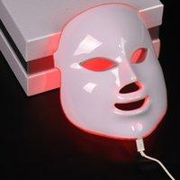 Wholesale beauty skin photon rejuvenation acne LED mask led light therapy mask