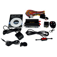 auto hand controls - 10Set Auto Vehicle TK103B GPS Tracker Car GSM GPRS Tracking Device With Remote Control Rastreador Veicular GPS001