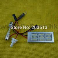 Wholesale 10pcs hot selling v car led dome light adapter SMD leds Auto panel Interior with Festoon T10 Socket