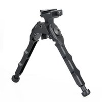 Wholesale airsoft hunting ar15 accessories tactical BR Bolt Action Quick Detach Bipod fit mm picatinny rail for rifle scope black tan