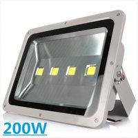 Wholesale 8pcs AC85 V LED Flood Light W W Led Outdoor Wall Light Led Reflector Warm Cold White IP65 Waterproof