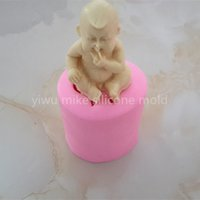 baby cake shop - factory shop baby design cake or soap silicone t mold for cake decorating tools mk