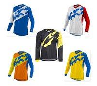 Wholesale Long Sleeve Motocross Jersey Moto T Shirt The Downhill Long Sleeve T shirt Cross country Motorcycle Riding Bicycle T shirt Mavic CrossMax DH