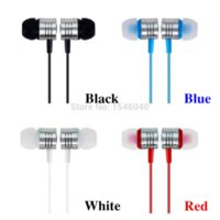 Wholesale Hot Sale mm super bass Stereo Earphone Headphone Headset For XiaoMI M2 Samsung iPhone plus MP3 game music earphones
