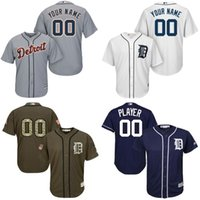 authentic boy names - Authentic Youth Detroit Tigers Custom Baseball Jersey blank Personalized any name and number Embroidery logos stitched size S XL