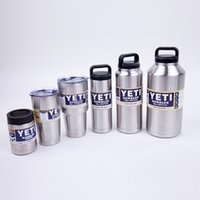 Wholesale 12 oz YETI Cup Stainless Cups oz oz oz with lid cups Bottle Colster Rambler Mug