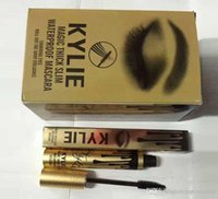 Wholesale 2016 Hot sale luxury gold kylie single head mascara waterproof and sweat not dizzy catch