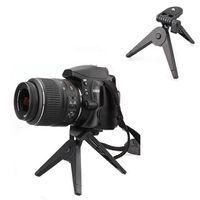 Wholesale Mini Portable Folding Tripod Stand for Canon Nikon Cameras DV Camcorders and DSLR SLR Black SJJ