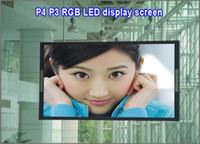 Wholesale P4 led dot matrix display module indoor rgb scan led panel billboard screen moving digital sign board panel