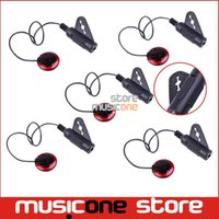 banjo strap - 5pcs Adeline AD Guitar Violin Viola Cello Banjo Contact Micro Pickup with Strap Button Hanger