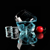Wholesale Crystal Glass Cocktail Cup Bar Drink Glass Lead free Wine glass shot glass fruit wine glass