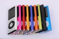 32Go 16Go 4 MP4 Player FM + Ebook + enregistreur vocal MP3 avec câble et écouteurs 3ième 50PCS DHL Livraison gratuite