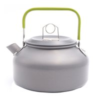 aluminum tea kettle - Boundless Voyage L Camping Water Kettle Outdoor Tea Kettle Portable Coffee Pot Picnic Kettle BDS008