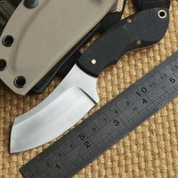 Wholesale Boker Mini Chopper Hunting skin knife Stainless Steel Tactical Fixed Blade Knife With KYDEX Sheath outdoor knives EDC tools
