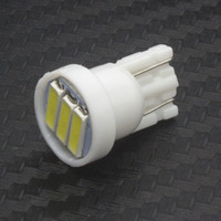 Wholesale 1000pcs T10 SMD LED White Lights led bulb dc V Car Dome Festoon Door License plate lamp Side marker bulb