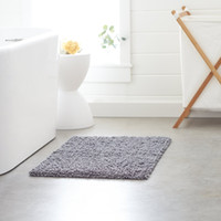Wholesale KS Soft Non slip Microfiber Polyester Chenille Shaggy Bath Mat Bathroom Mat Shower Rug inch for bathroom and kitchen
