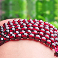 Wholesale 2016 Promotion Special Offer Red Wine Refill Polishing A Natural Pure Collection Class Wine Red Garnet Beads Crystal of Diy Accessories